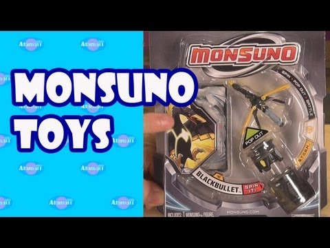Monsuno Toys Review with Monsuno Cores