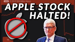 Is APPLE ACTUALLY DOOMED? What a Stock Halt Means & What the iPhone XS & XR have to do with it