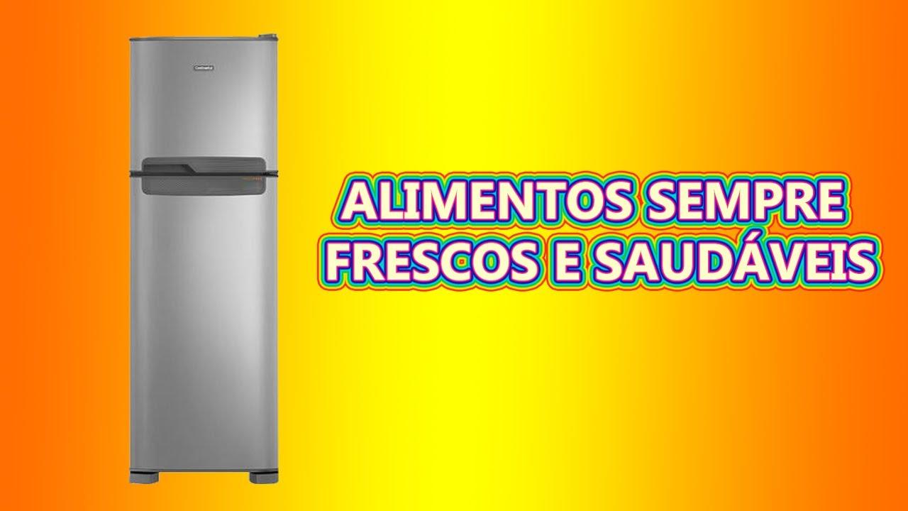 Geladeira Refrigerador Continental Frost Free Duplex 370 Litros Tc41s Detalhes Youtube