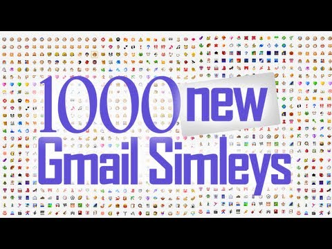 Preview 100 New Gmail Smiley Emoticons
