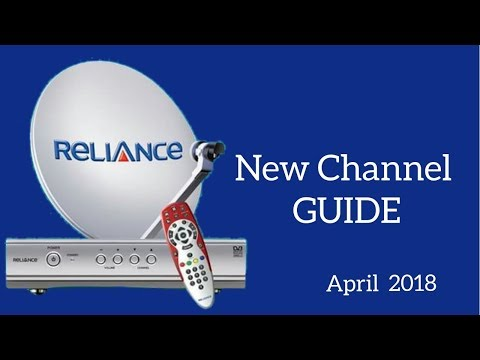 Reliance Digital TV new channel list - Full channel guide - April 2018