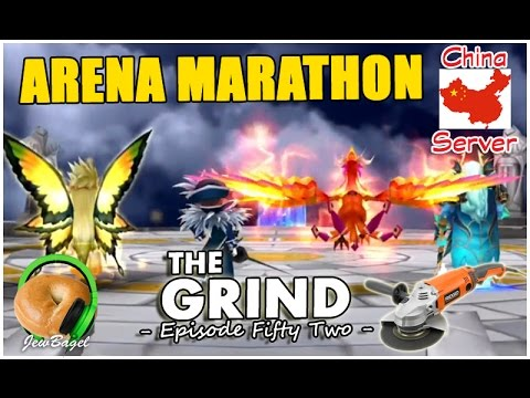SUMMONERS WAR : The Grind -  Episode FiftyTwo Arena Marathon (China Server)