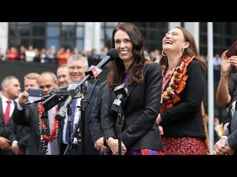 Jacinda Ardern sworn in as New Zealand's prime minister