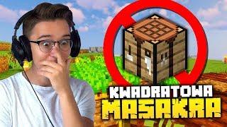 Czy da się grać na KWADRATOWEJ MASAKRZE bez craftowania? | Minecraft SHEO