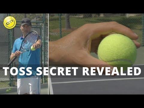 Tennis Serve Tip: Toss Secret Revealed