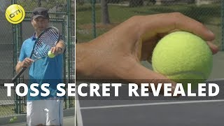 Tennis Serve Tip: Toss Secret Revealed