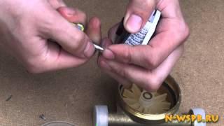 Устройство счётчика воды(Разбираем водяной счётчик. http://www.n-wspb.ru., 2012-07-18T10:25:11.000Z)