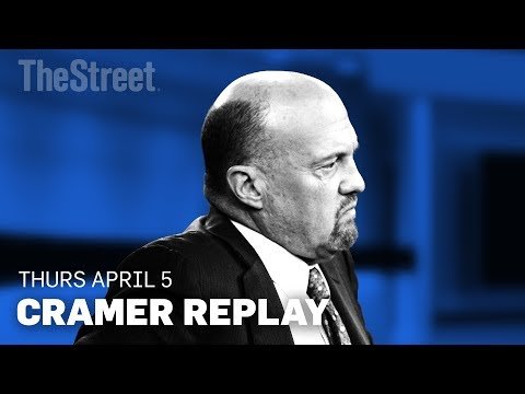 Jim Cramer on Trade Worries, NAFTA, Apple, Micron Technology and Nvidia
