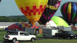 Hot Air Balloon Festival Coshocton 2009 in HD