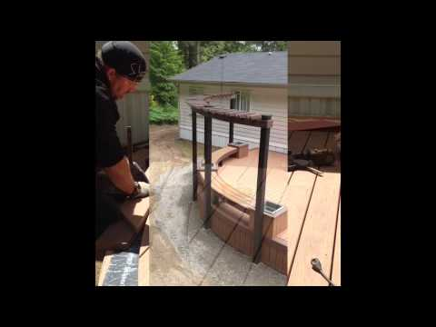 Heat Bending Decking