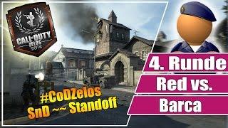 #CoDZelos FINALE // Red vs Barca // 4. Runde SnD auf Standoff