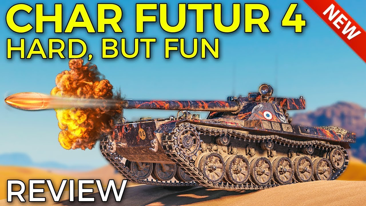 New French Reward Tank | World of Tanks Char Futur 4 Review