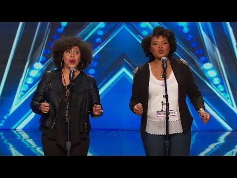 America's Got Talent S09E01 Acte II Opera Singing Duet Olanna Goudeau & Ashley Renée Watkins
