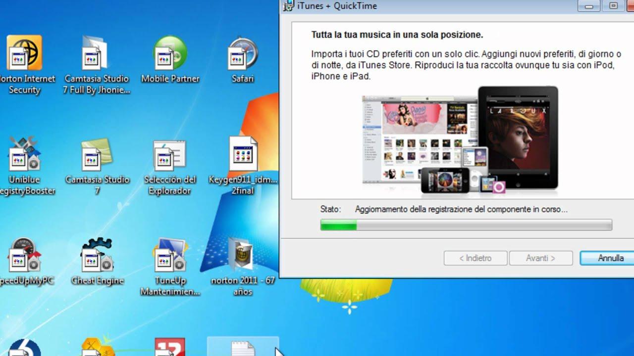 Descargar itunes 2011 para windows 7 64 bits.wmv - YouTube