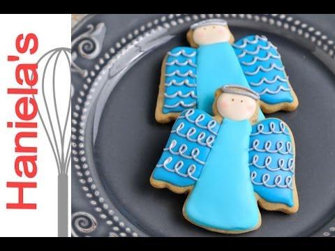 Christmas Angel Cookies Haniela S