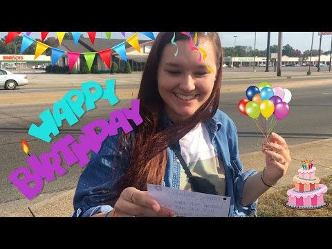 MY BIRTHDAY SCAVENGER HUNT