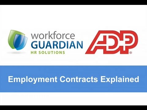Webinar 5 - Employment Contracts Explained