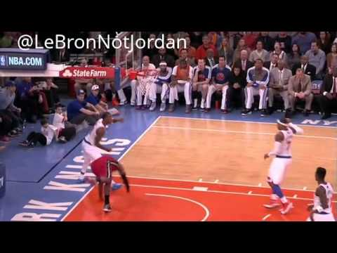(HEAT vs KNICKS) LeBron, scored 29 points to lead the Heat to their 14th straight victory. (3/3/13)
