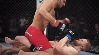 UFC 189: EA SPORTS UFC Simulation – Mendes vs. McGregor