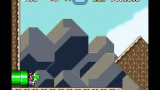 Super Mario World - Chocolate Island 2 (Alternate Exit).