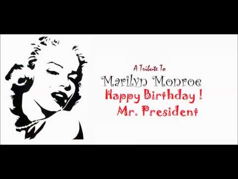 "Marilyn Monroe ""Happy Birthday, Mr. President"" (Audio Live)"