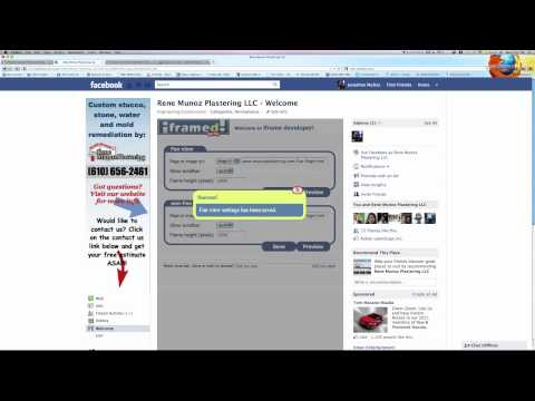 How To Build A Custom Landing Page For Facebook Using IWeb And HTML/iFrame