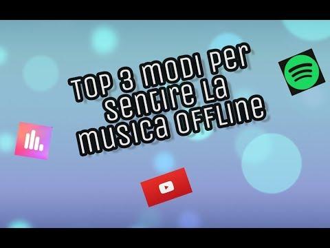 Tutorial: 3 modi per ascoltare musica offline(link in descrizione)