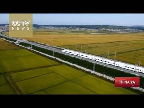 Northeast China's most beautiful high-speed rail goes into operation