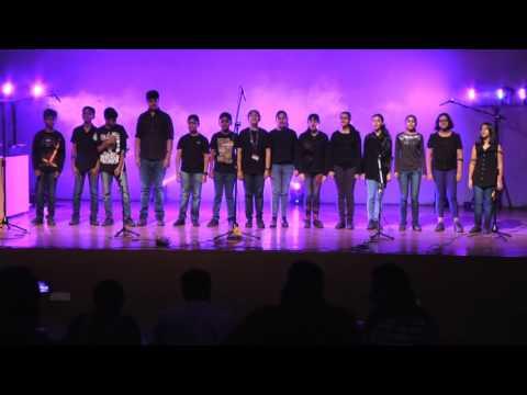 St Xavier&39;s School Choir sings &39;Africa&39; at Arena