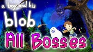 A Boy and His Blob All Bosses (Wii, PS4, PC, XOne, Vita)