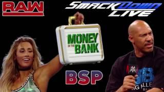 WWE Raw and SD Live Recap :: Women's Money in the Bank Ladder Match :: Samoa Joe Chokes Brock Lesnar