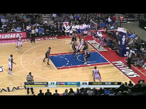 Brooklyn Nets vs Detroit Pistons | February 7, 2014 | NBA 2013-14 Season