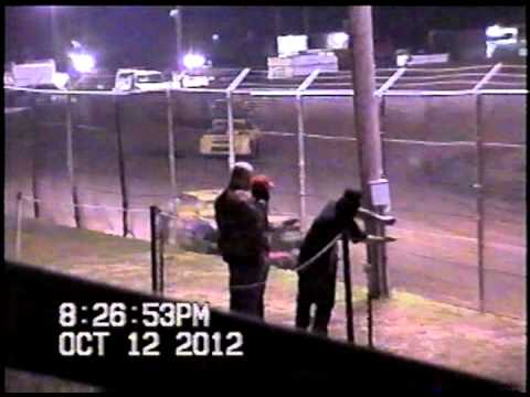 Malden Speedway Mini Stock Heat-Nathan Rettig Memorial Cotton Bowl Cup 2012