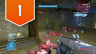 Halo 3 (Xbox One) - Live Multiplayer Gameplay #1 - KICKIN' AZZ & TAKIN' NAMES!