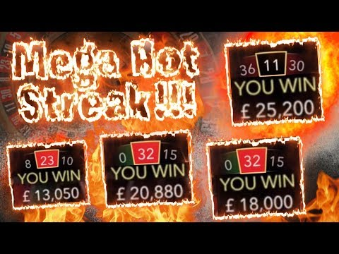 MEGA HIGH STAKES Roulette Session!!!