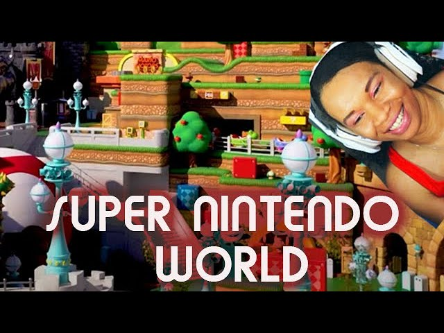 Reaction to Super Nintendo World Theme Park Reveal Trailer