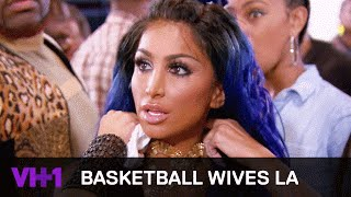 Angel Brinks Learns January Had Sex With Tyreke From Jackie Christie  | Basketball Wives LA