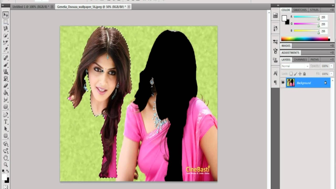 Non-destructive vs. Destructive ediitng in photoshop cs3.