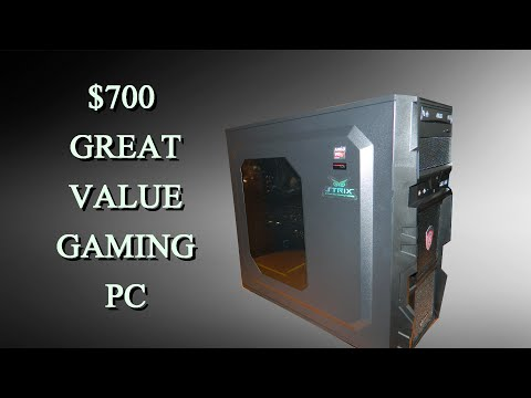 Great value gaming pc 2016 $700 | UNBOXING nového PC | NORTIK