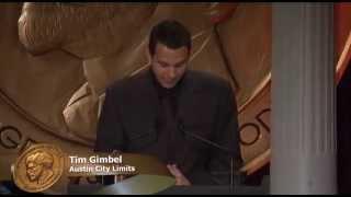 Tom Gimbel - Institutional Award: Austin City Limits - 2011 Peabody Award Acceptance Speech thumbnail