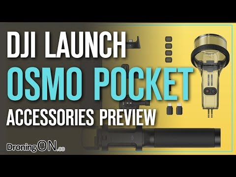 DJI Osmo Pocket Accessories Preview/Review