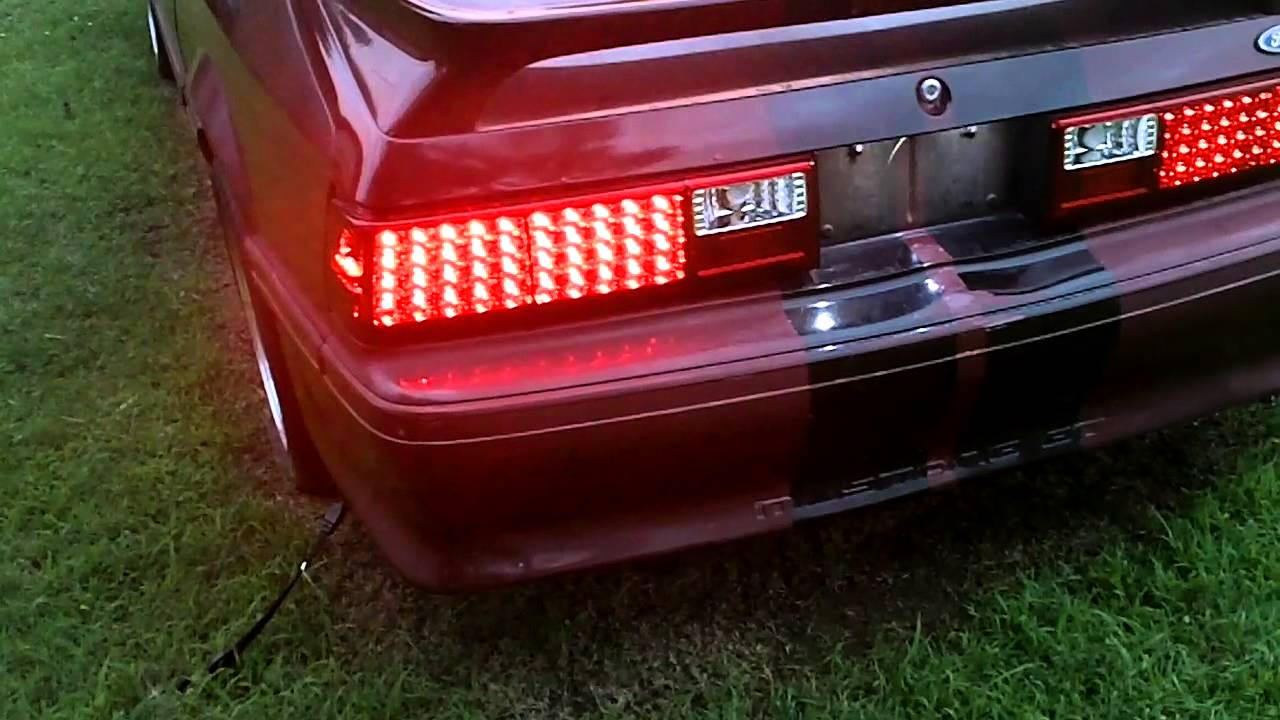 Led Flasher Installed 1990 Ford Mustang Gt Youtube