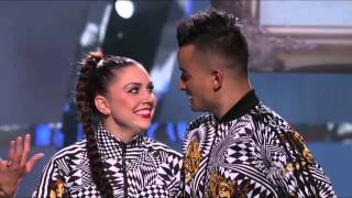 Jenna and all star Mark  So you think you can dance season 10 top 8