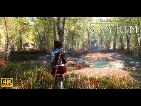 Skyrim SE Ultra Modded I New Aspen Forest I 4k I W/modlist And Links I