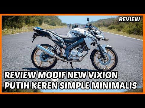 Modifikasi Vixion FZ150i Sederhana Tapi Keren