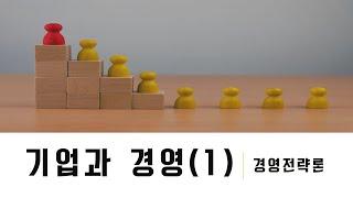 학점은행제_경영학 : 경영전략론_기업과경영(1)
