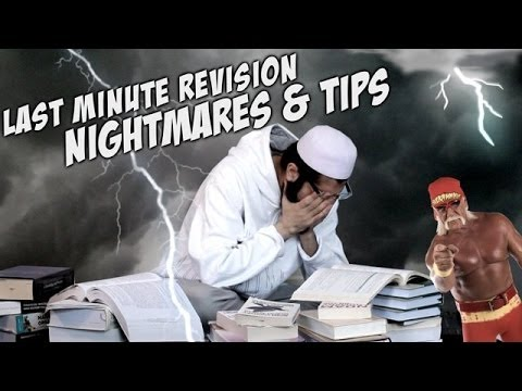 last minute revision nightmares tips funny must watch youtube. Black Bedroom Furniture Sets. Home Design Ideas