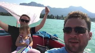 Отдых с семьей - озеро Мондзи Австрия