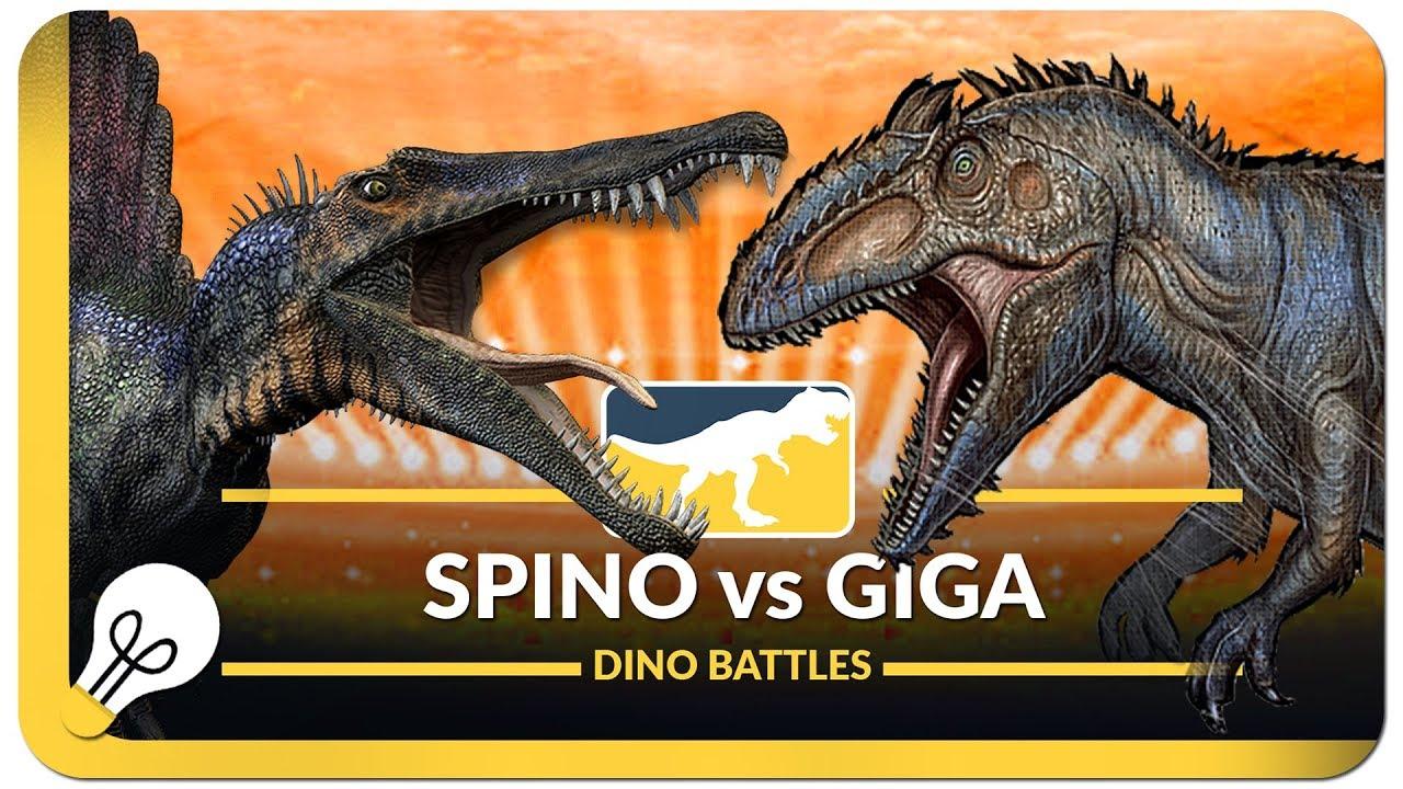 Spinosaurus vs Giganotosaurus - YouTubeGiganotosaurus Vs Spinosaurus