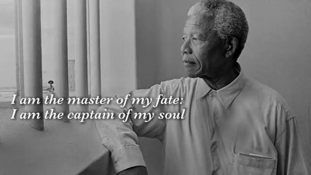 Genoeg Nelson Mandela's Favorite Poem 'Invictus' Read by Morgan Freeman  #BW98